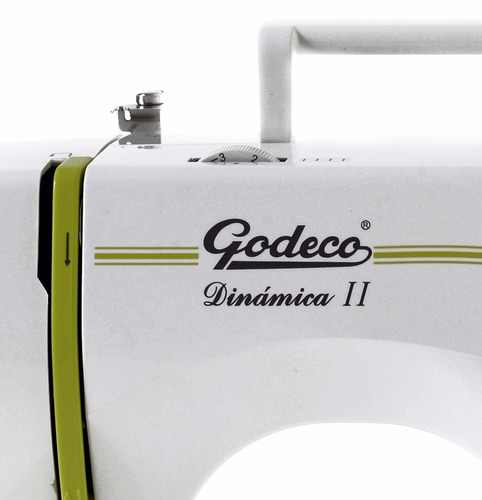 máquina de coser  bordar godeco mod. dinámica 8 diseños