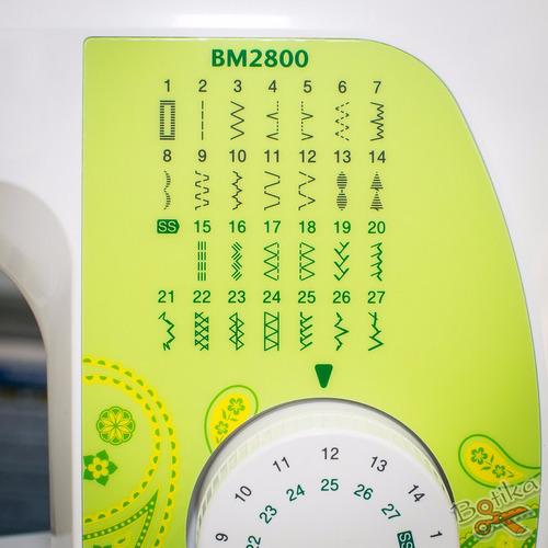 máquina de coser brother bm 2800 bm2800 - nueva c/ garantía