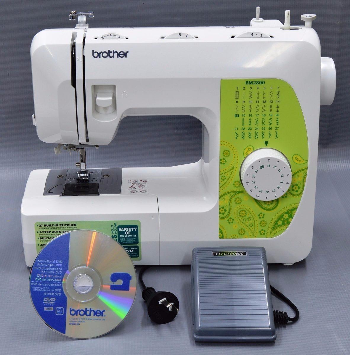 Maquina De Coser Brother Bm2800 Mecanica - $ 4,119.00 en
