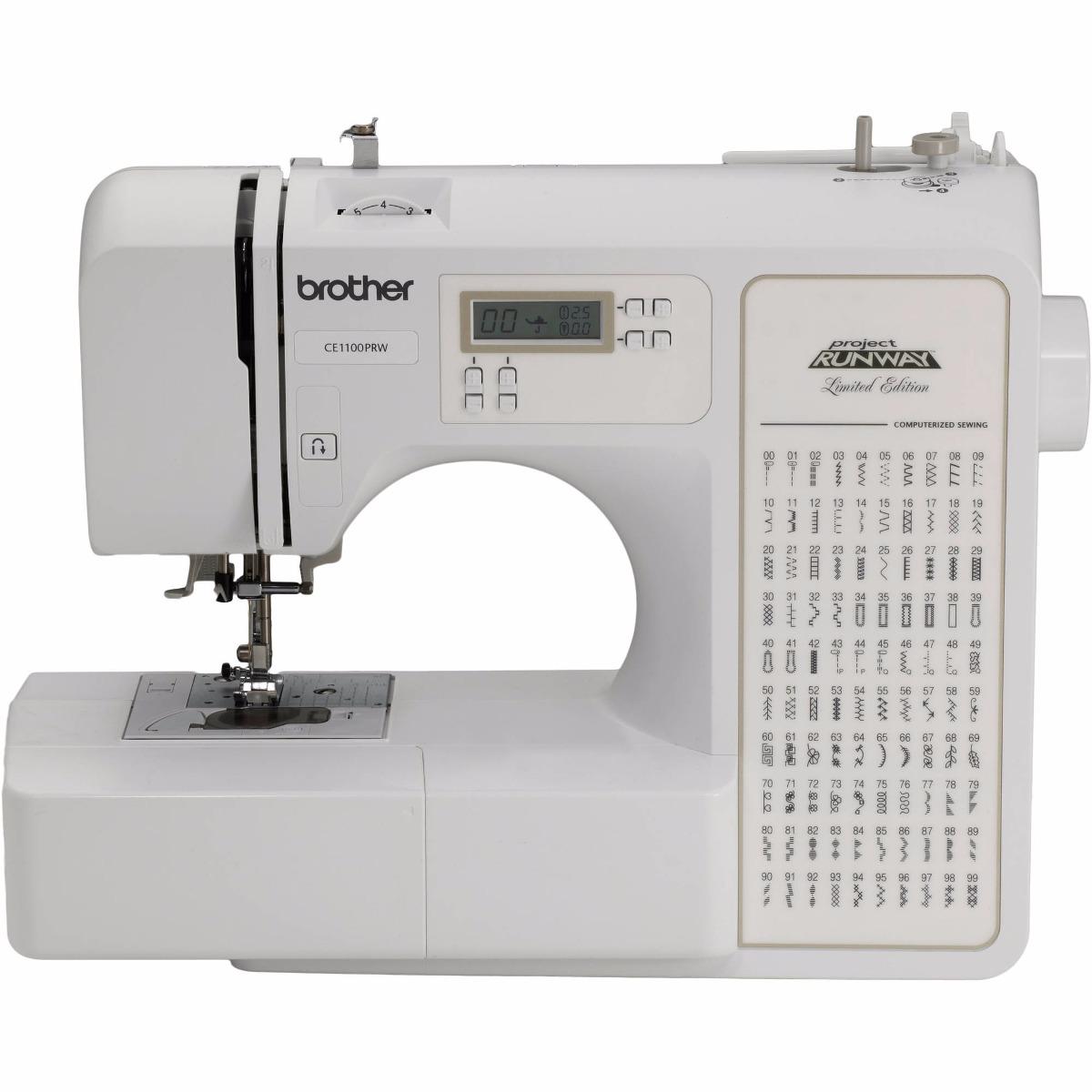 Maquina De Coser Brother Ce1100prw Computarizada 100