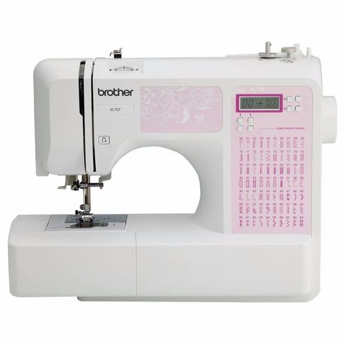 maquina de coser brother computarizada 70 puntadas sc707