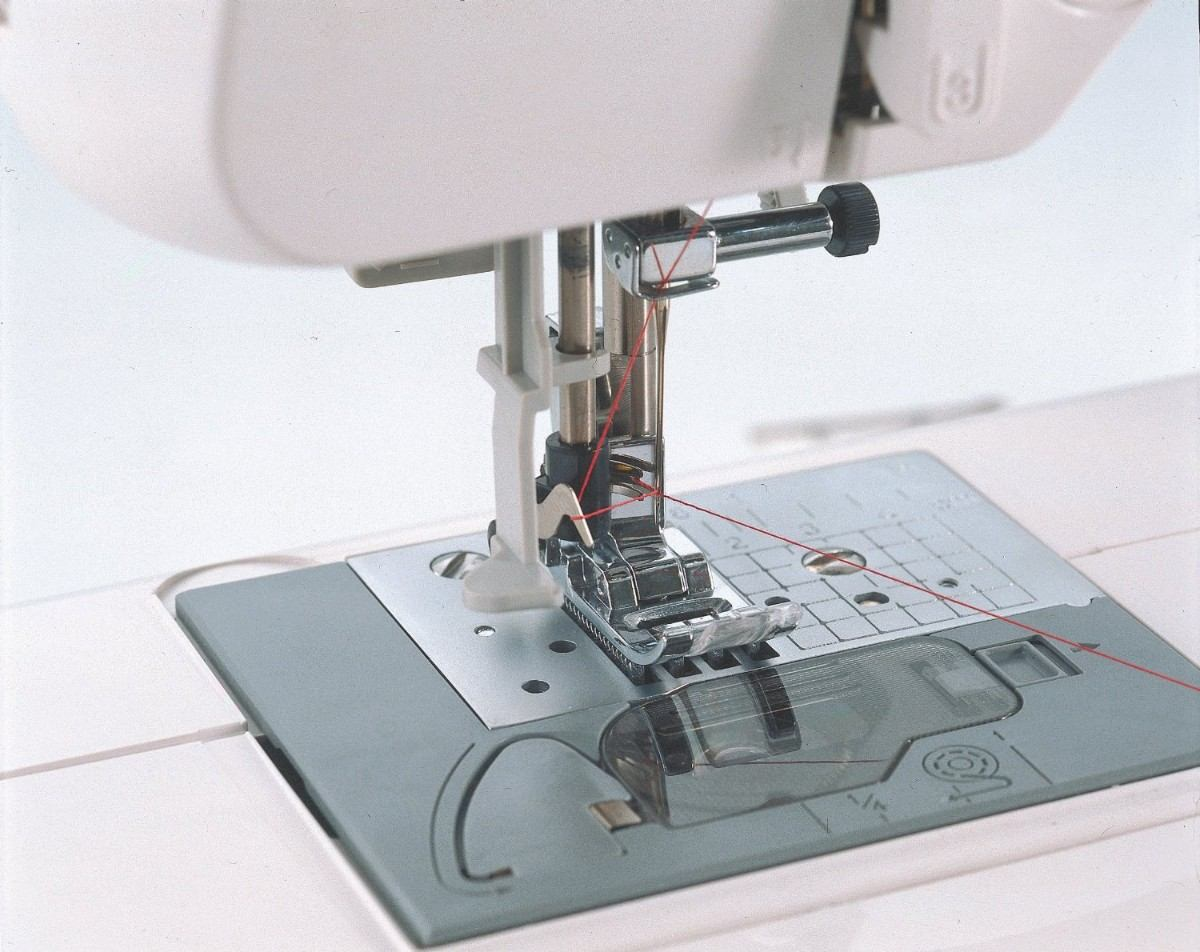 Maquina De Coser Brother Cs6000i 60 Puntadas Tabla Vbf