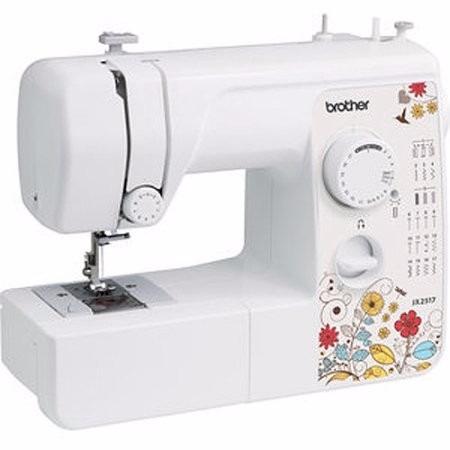 maquina de coser brother jx2517 luz led 17 punt envio gratis