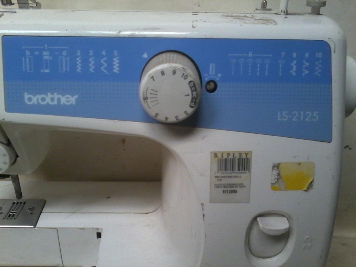 Maquina De Coser Brother Ls 2125 - $ 25.000 en Mercado Libre