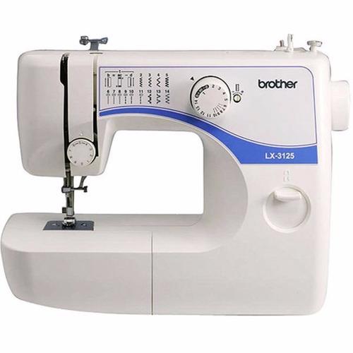 máquina de coser brother lx 3125 + 6 conos hilo 455m maxmark