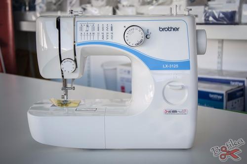 máquina de coser brother lx 3125 lx3125 - nueva c/ garantía