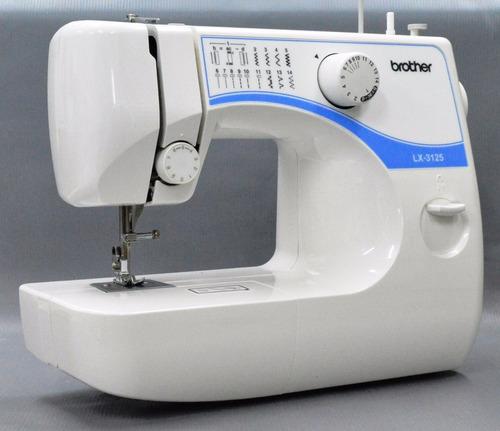maquina de coser brother profesional c/luz + dvd ojal boton