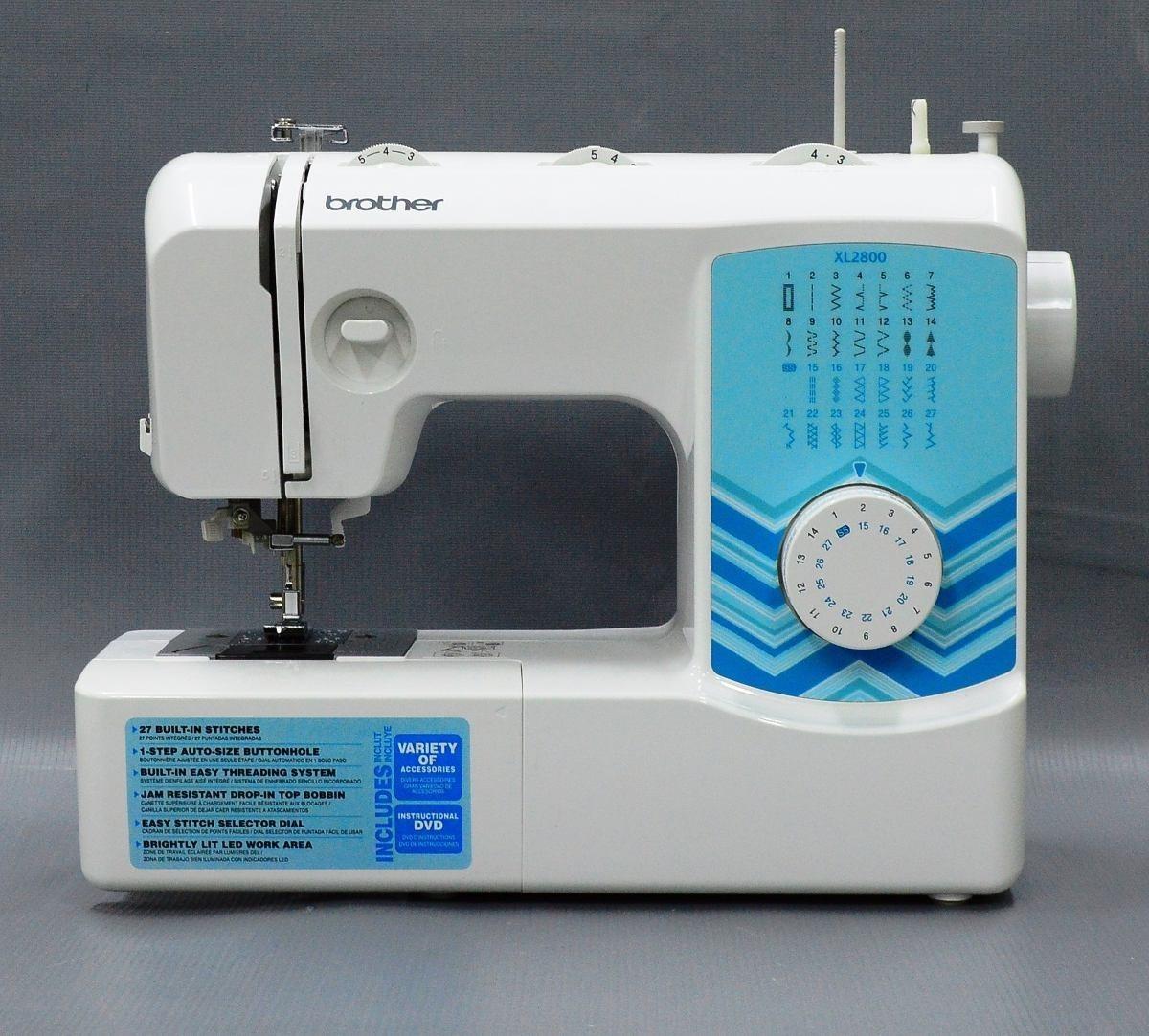 Maquina De Coser Brother Xl2800 27 Puntadas 63 Funciones