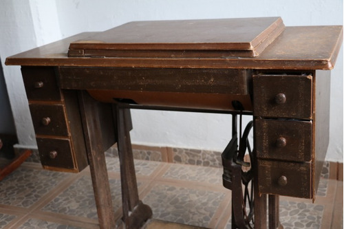 maquina de coser central vintage
