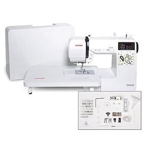 Máquina De Coser Computarizada Janome Jw8100 Con 100 Puntos,