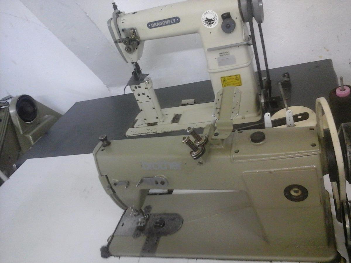 Maquina De Coser De 2 Agujas De Ganchos Brother - $ 6,900