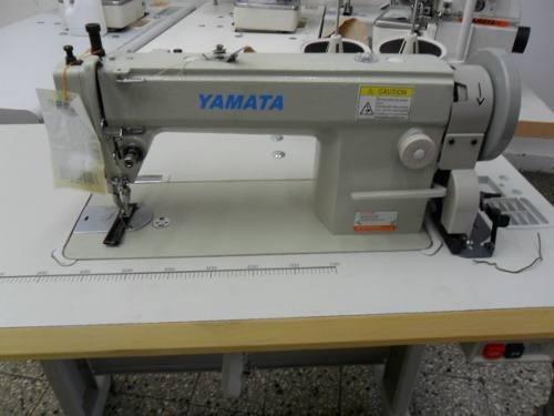 maquina de coser doble arrastre tanque crochet grande yamata