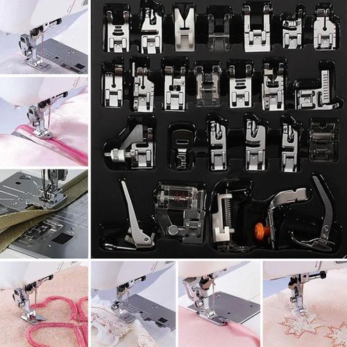 máquina de coser doméstica de 32pcs pies prensatelas pie