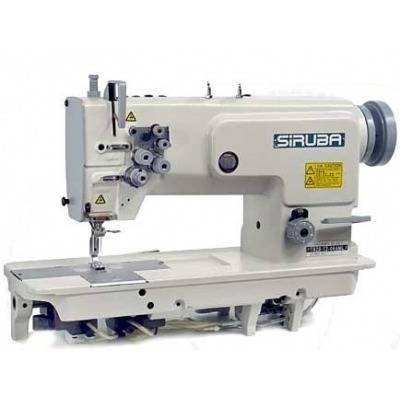 maquina de coser dos agujas industrial