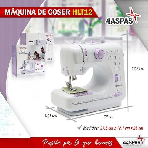 maquina de coser electrica portatil mini 12 puntadas femmto
