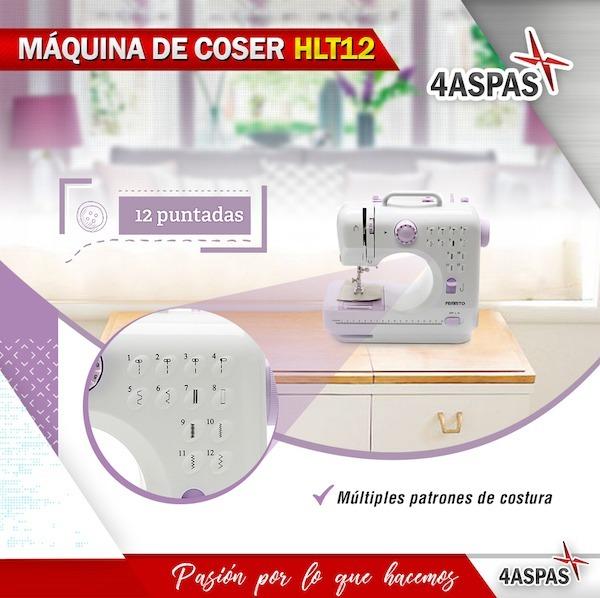 Maquina De Coser Electrica Portatil Mini 12 Puntadas Femmto ...