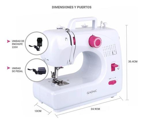 maquina de coser gadnic multi propósito en caja garantía
