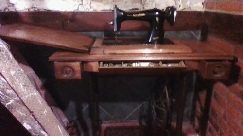 maquina de coser godeco a pedal usada