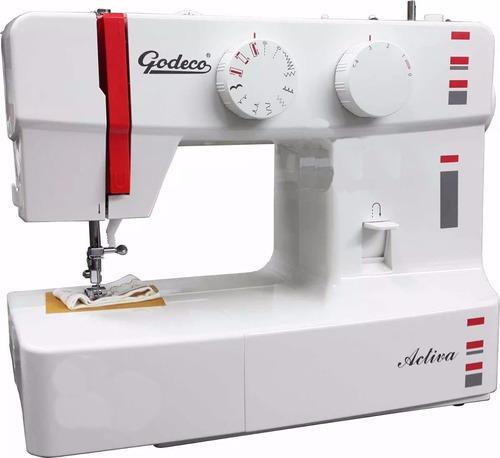 maquina de coser godeco activa 9 funciones zigzag ojalador