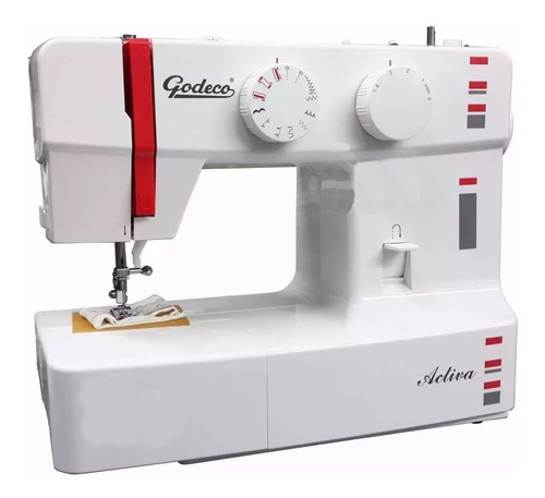 maquina de coser godeco - ojalador - 9 diseños - activa
