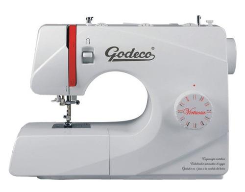 máquina de coser godeco virtuosa 23 diseños automáticos.