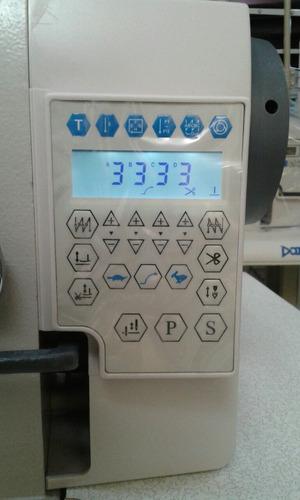 maquina de coser industrial automatica con display digital
