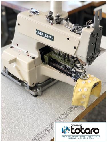 maquina de coser industrial botonera siruba con garantia