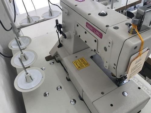 maquina de coser industrial collareta cama plana
