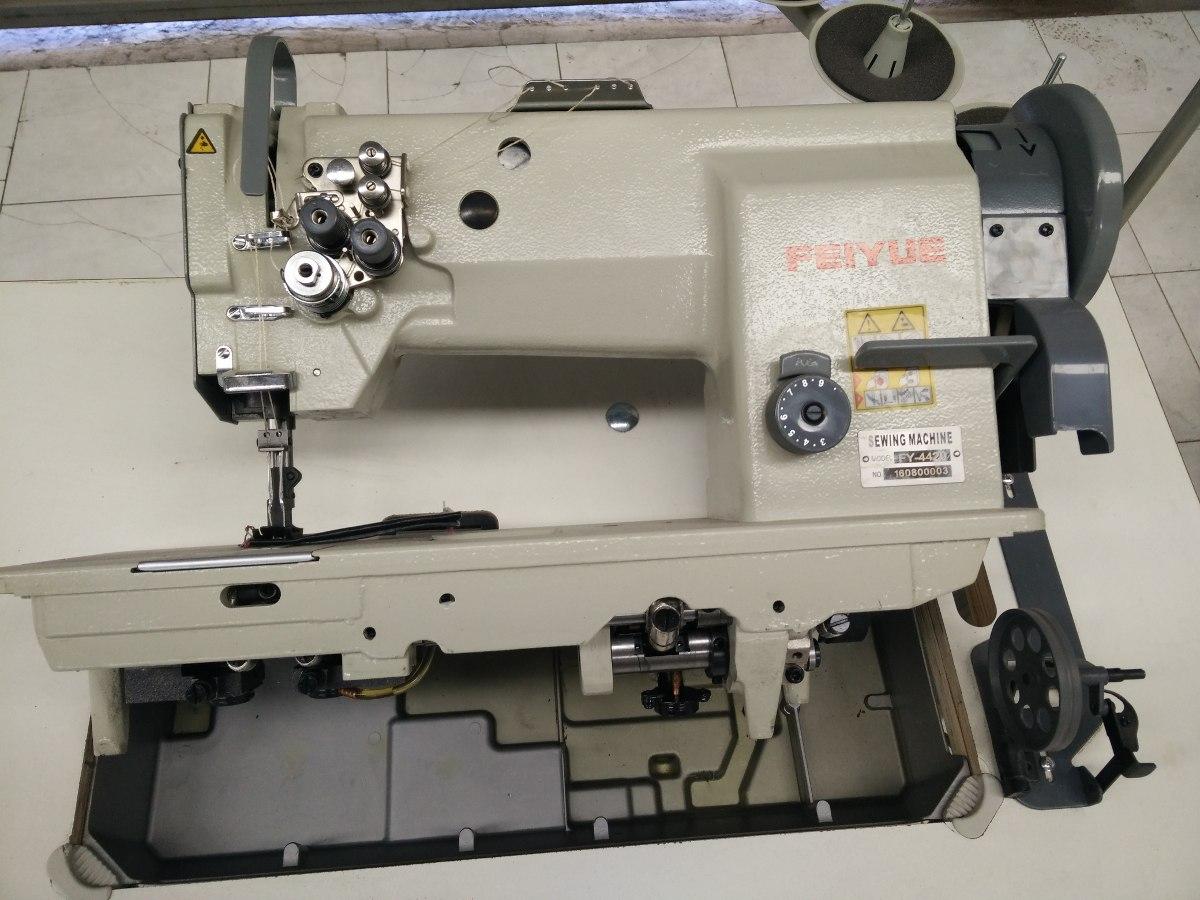 Maquina De Coser Industrial Doble Aguja Triple Arrastre