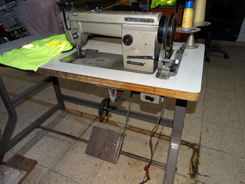 maquina de coser industrial doble traccion