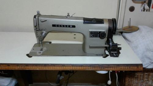 máquina de coser industrial recta