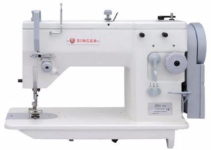 máquina de coser industrial recta singer zigzag 20u109