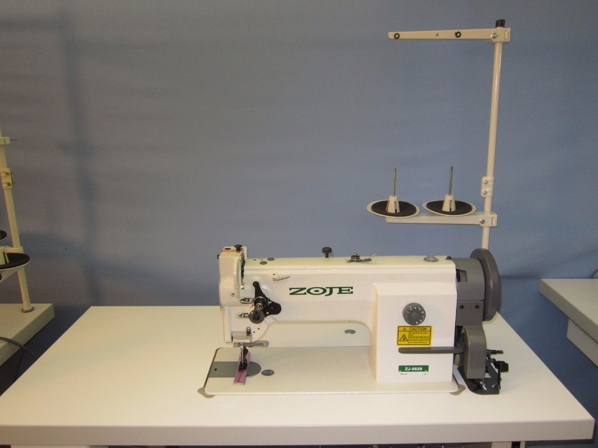 Maquina De Coser Industrial Triple Transporte Zoje Zj0628