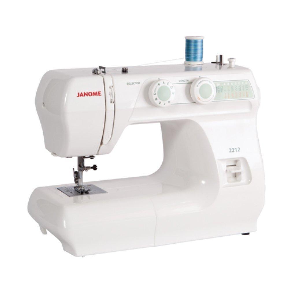 Maquina De Coser Janome 2212 12 Puntadas Costura - $ 7,198