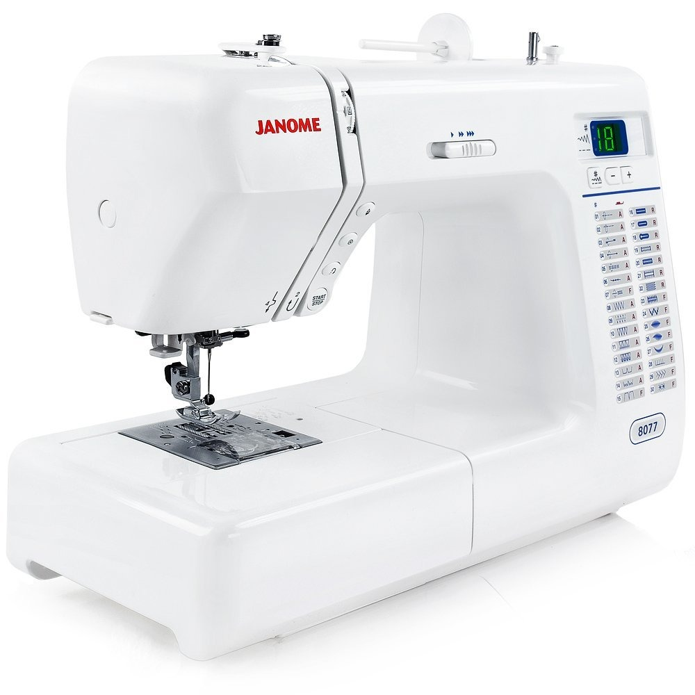 Maquina De Coser Janome 8077 Computarizada 30 Pulgadas Vbf