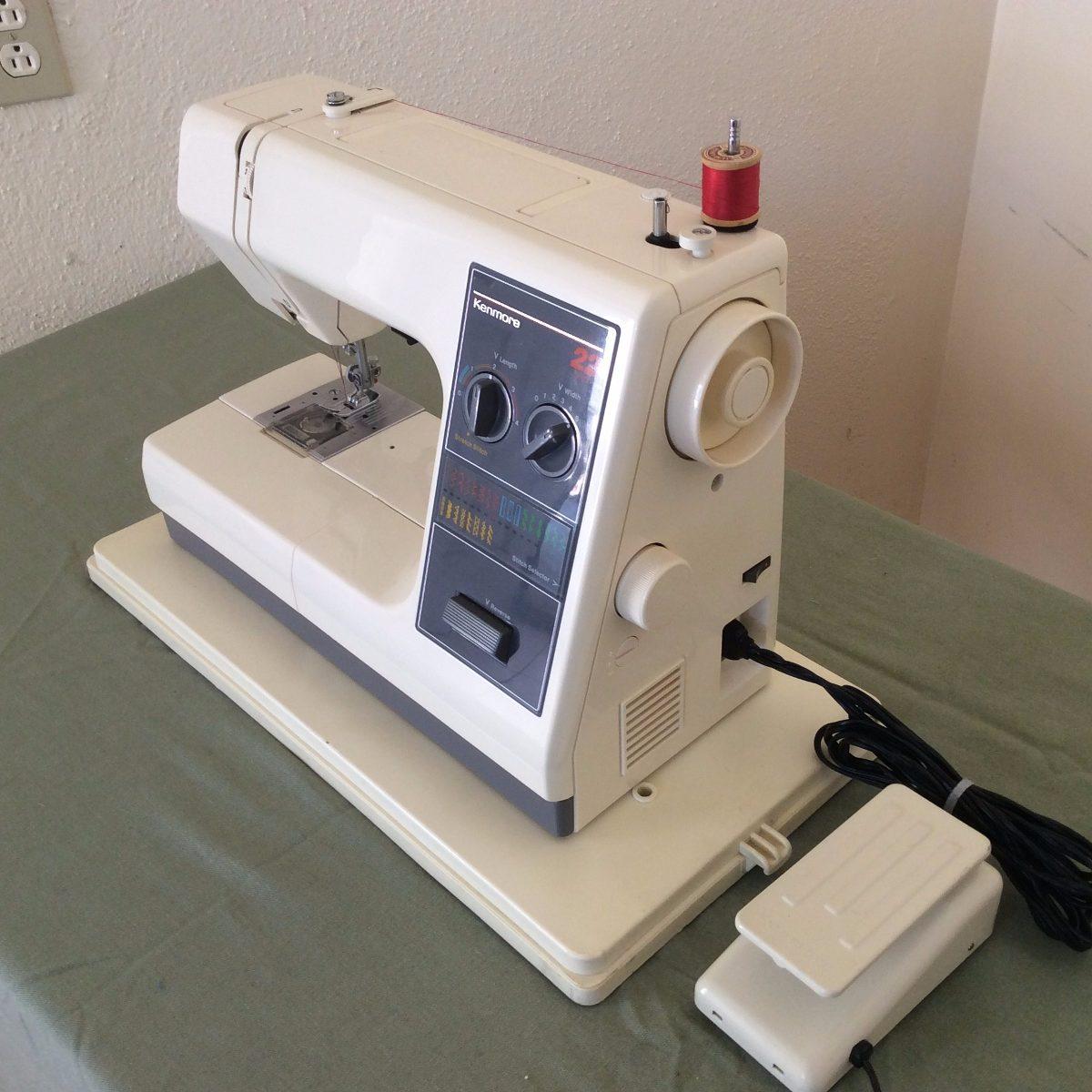 Maquina De Coser Kenmore 22 Stitch Zig Zag Modelo 385