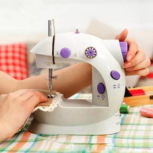 maquina de coser mini portatil sewing mas envío gratis