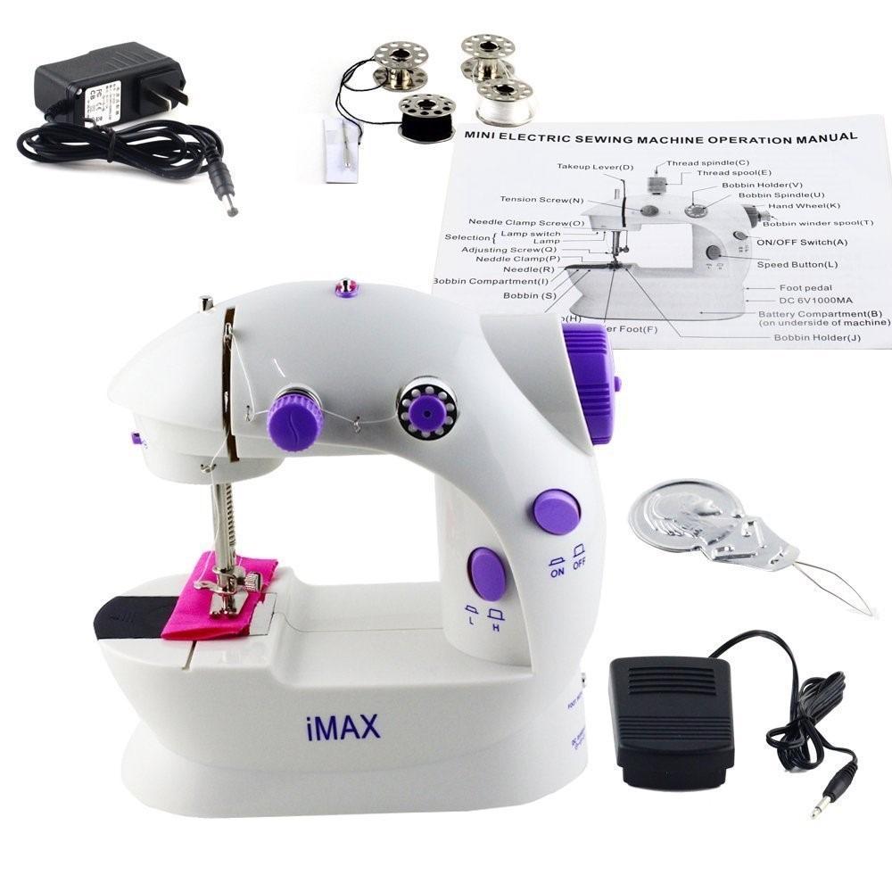Maquina De Coser Mini Sewing Machine Lss-202