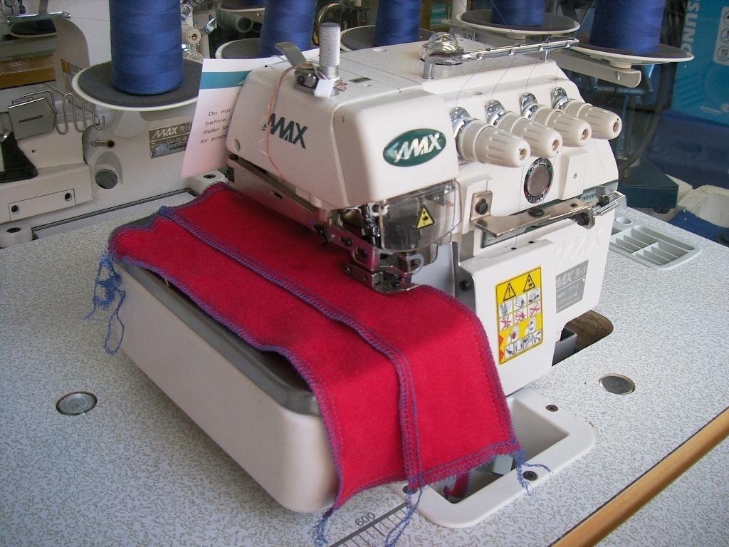 Maquina De Coser Overlock 5 Hilos Alta Velocidad Marca Max