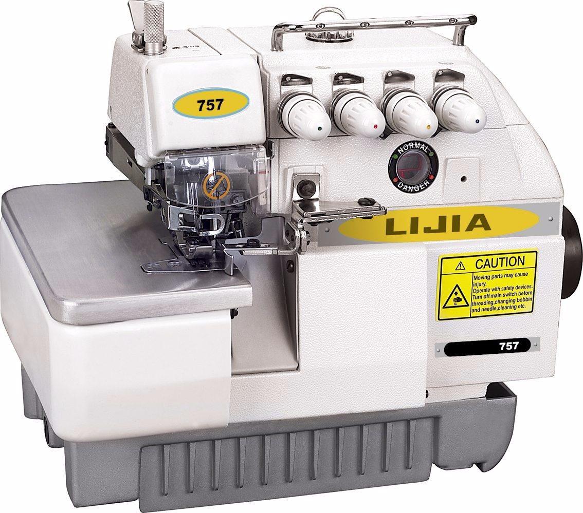 Maquina De Coser Overlock 5 Hilos Industrial Alta