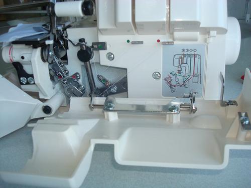 maquina de coser overlock godeco lock 1040 familiar