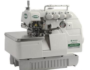 maquina de coser overlock industrial ** con mesa y motor
