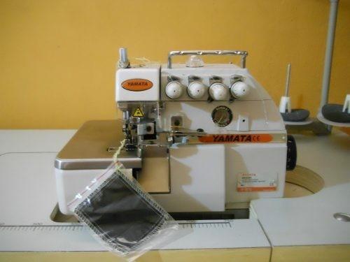 maquina de coser overlock industrial yamata fy757