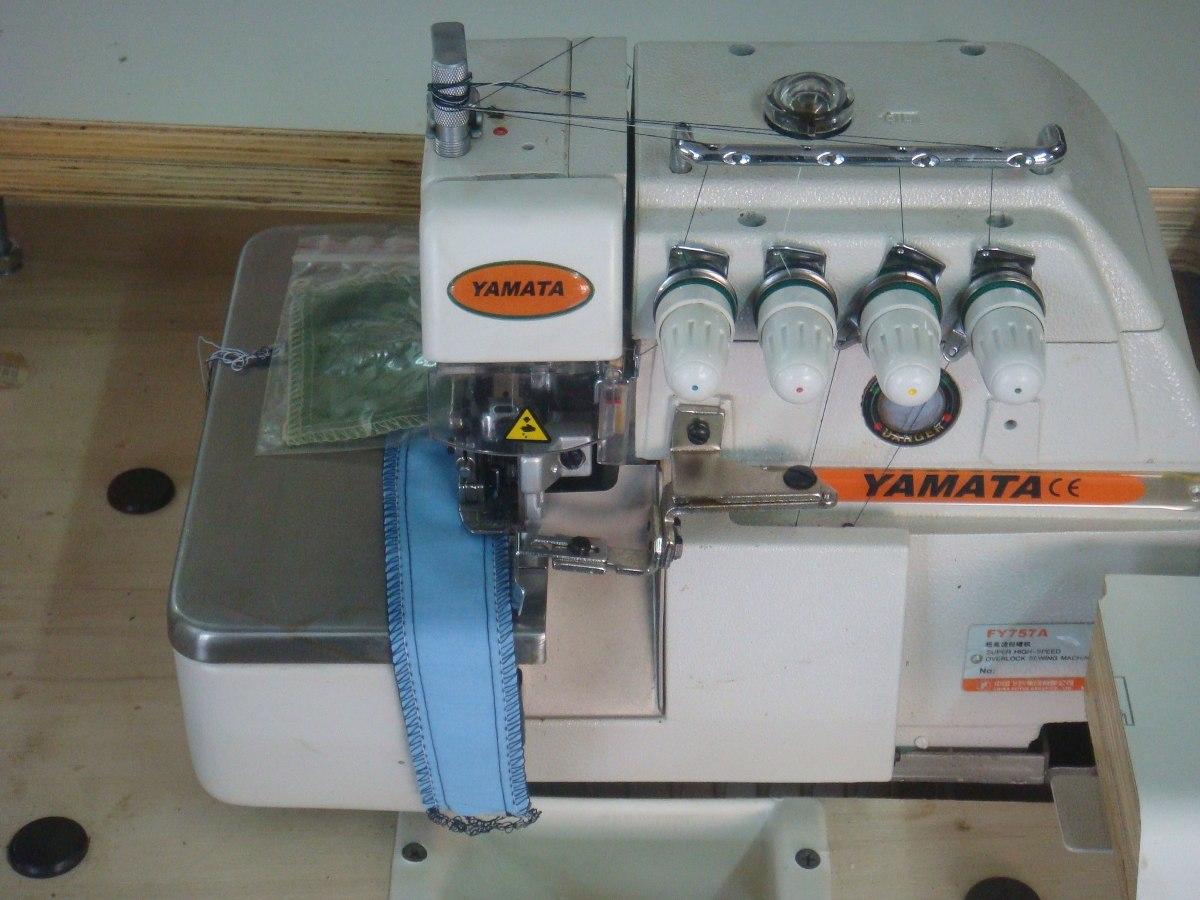 Maquina De Coser Overlock Industrial Yamata Fy757 - Bs