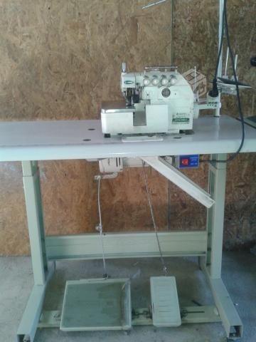 maquina de coser overlock industrial zoje