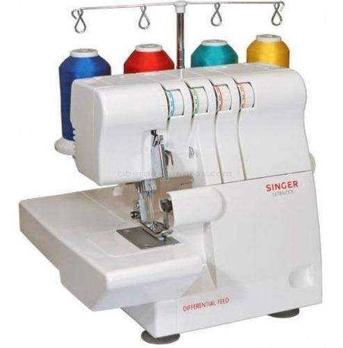 maquina de coser overlock singer® (14sh654) nuevo en caja