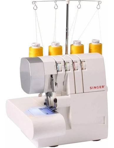 maquina de coser overlock singer® (14sh754) nuevo en caja