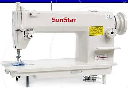 Maquina De Coser Plana Mecanica Sunstar Km 250 - $ 1.199