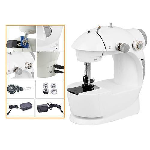maquina de coser portatil mini sewing machine 220v y pilas