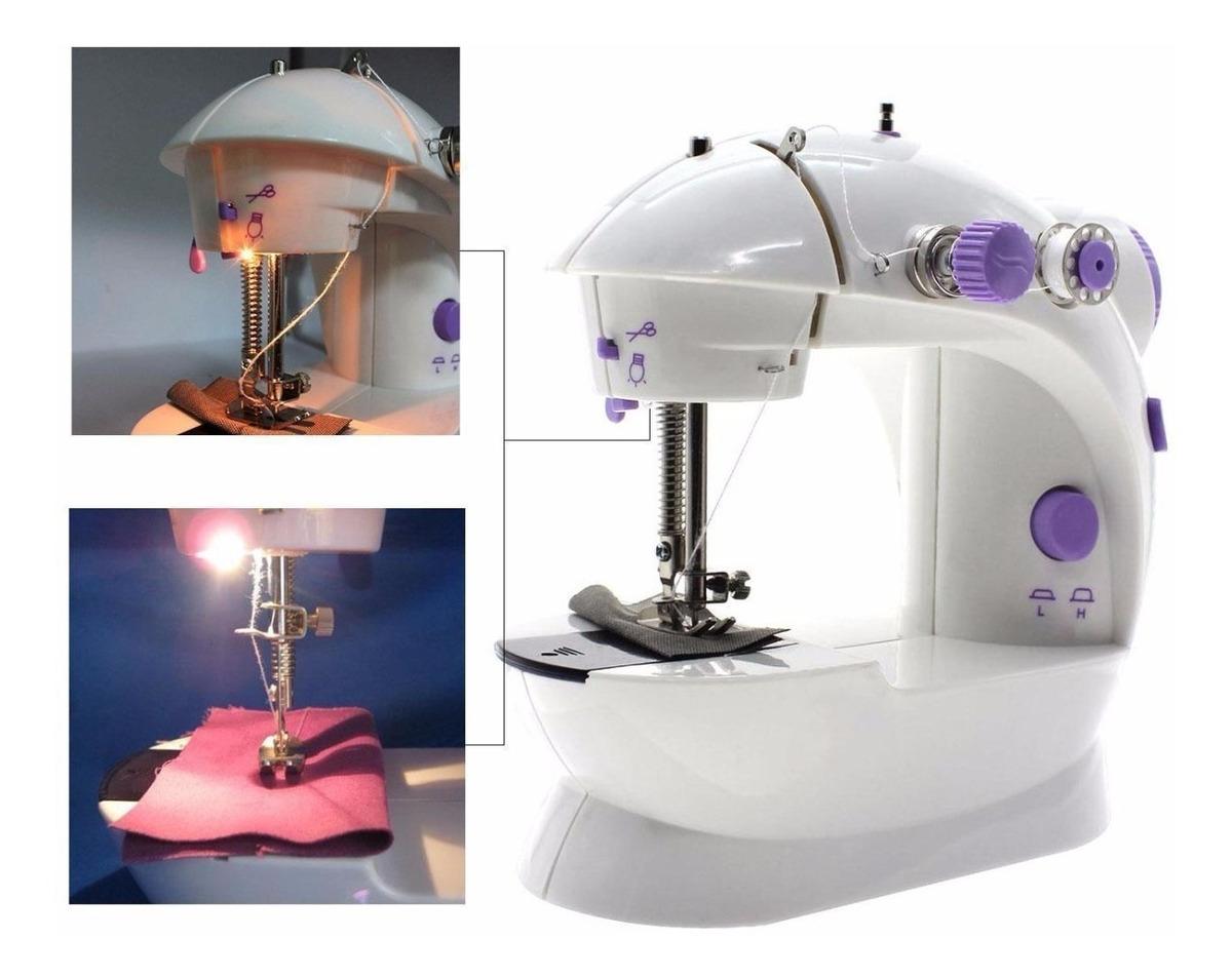 Maquina De Coser Portatil Mini Sewing Machine Tv Boleta